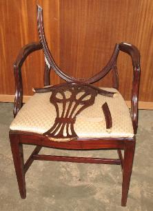 Broken Back Chair Before