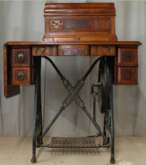Restoring Sewing Cabinets Illustrated