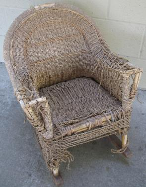Marvelous Reweaving Wicker Furniture Items Gmtry Best Dining Table And Chair Ideas Images Gmtryco